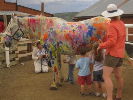 Paint-A-Pony and other kids' activities available