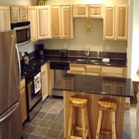 Kitchen sample photo at our condominiums