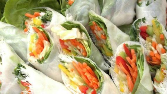 Spring Rolls by Stone Creek Catering