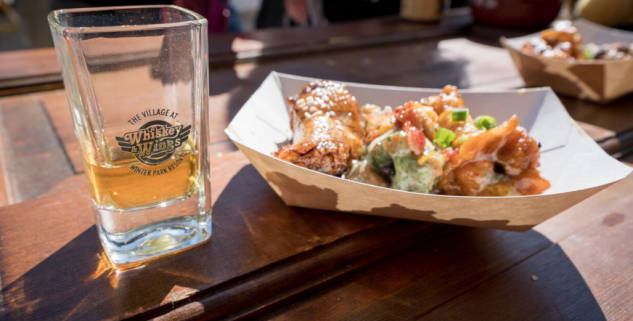 whisky and wings at Winter Park Resort