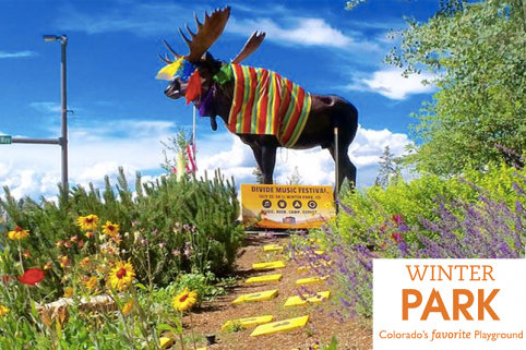 Winter Park Moose - It's easy to find us!