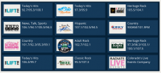 So many great radio stations to choose from