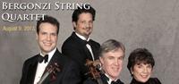 Bergonzi String Quartet: Auguest 9, 2013