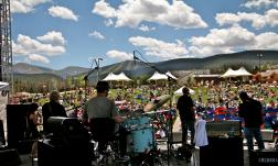 Annual Winter Park Jazz Festival every July.
