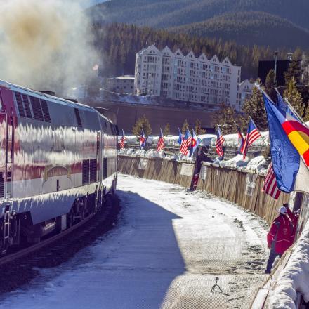 """Amtrak """"Winter Park Express"""" Returns to Winter Park, Colorado"""