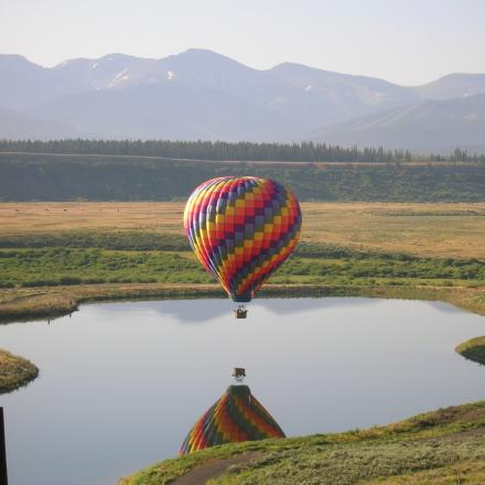 Hot Air Balloon Ride in Winter Park, Colorado