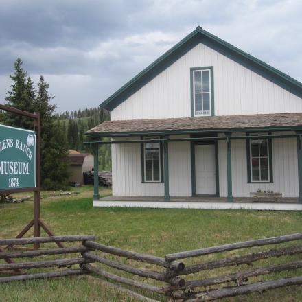 Cozens Ranch Museum in Winter Park, Colorado