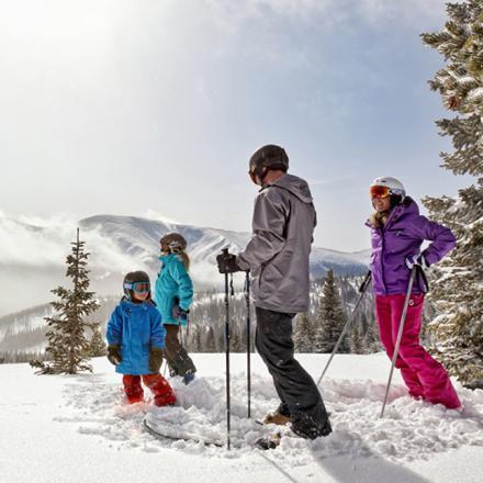 Family-Friendly skiing in Winter Park, Colorado