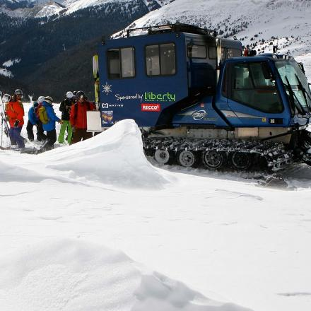 Snowcat Skiing Tours at Winter Park Resort