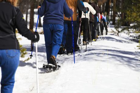 Snowshoe in and around Winter Park, Colorado