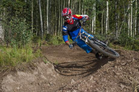 Downhill trails at Bike Granby Ranch