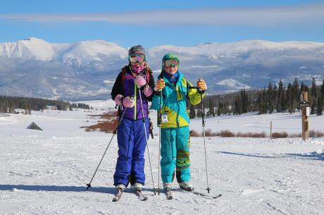 Cross Country Skiing at Snow Mountain Ranch