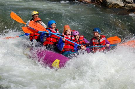 Mile Hi Rafting near Winter Park, Colorado