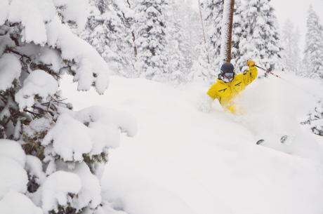 Powder Day at Winter Park Ski Resort in Colorado