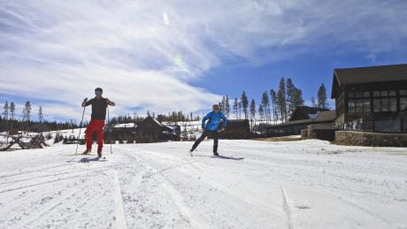 Cross-Country Skiing at Devil's Thumb Ranch near Winter Park, Colorado