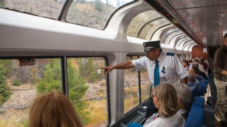 Scenic Train Rides near Winter Park, Colorado