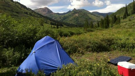 Dispersed Tent Camping Winter Park, Colorado