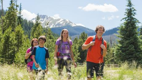 Family-friendly Hikes in Winter Park, Colorado