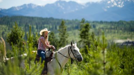 Guided Horseback Rides near Winter Park, Colorado