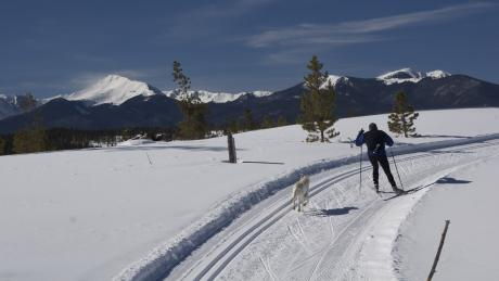 Cross-Country Skiing in Winter Park, Colorado