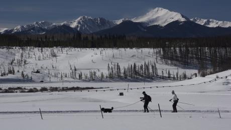 Scenic Cross-Country Skiing in Winter Park, Colorado