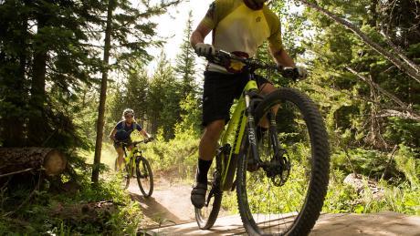 Cross Country Mountain Biking Near Winter Park, Colorado