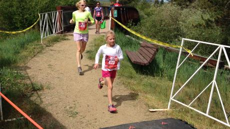Trail Running at our annual 4th of July event, Run For Independence