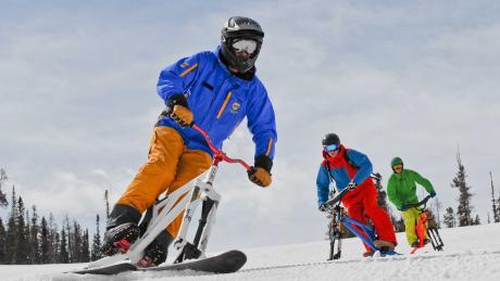 Ski Biking at Winter Park Resort