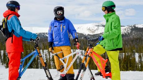 Ski Bike Rentals and Lessons at Winter Park Resort