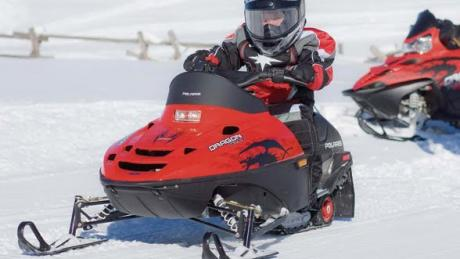 Kid-friendly Snow Scoot Rentals available in Winter Park, Colorado