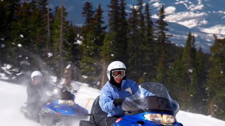 Family-Friendly Snowmobile Rides in Winter Park, Colorado