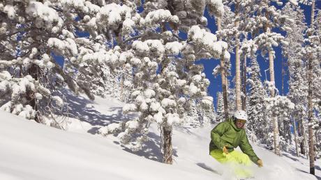 Snowboarding at Winter Park Resort