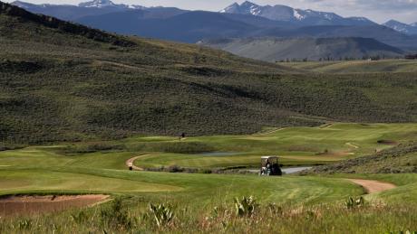 Golf at Granby Ranch near Winter Park, Colorado