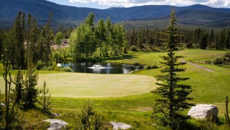 Grand Lake Golf Course near Winter Park, Colorado