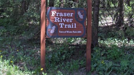 Fraser River Trailhead near Winter Park, Colorado