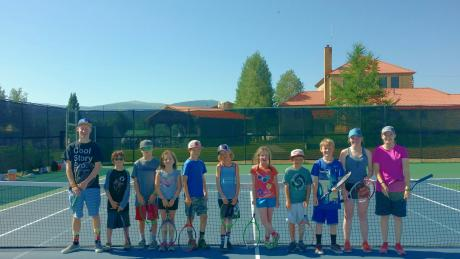 Tennis Classes for kids and teens through a Winter Park Community Rec Center